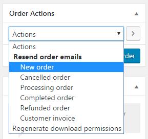 Adding an order manually