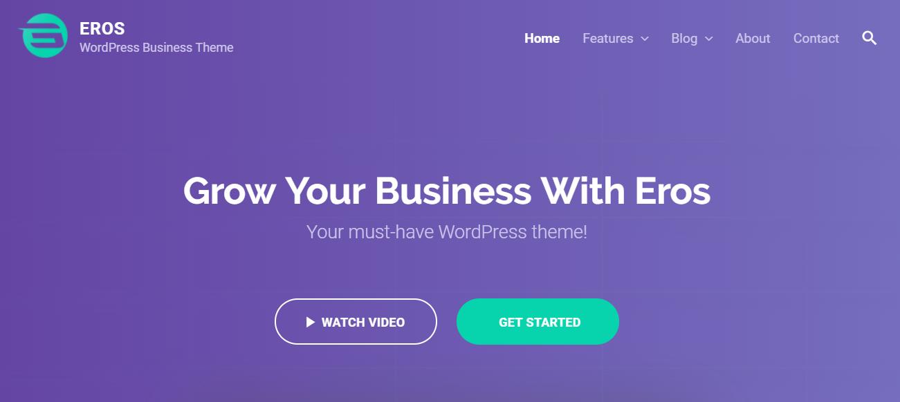 Eros startup theme