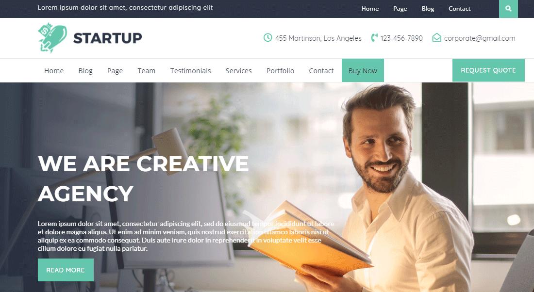 Startuppro theme