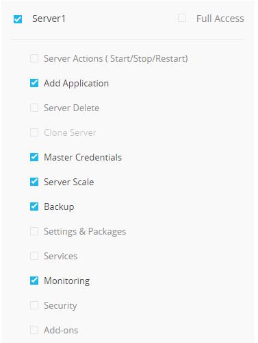 Server Level Access