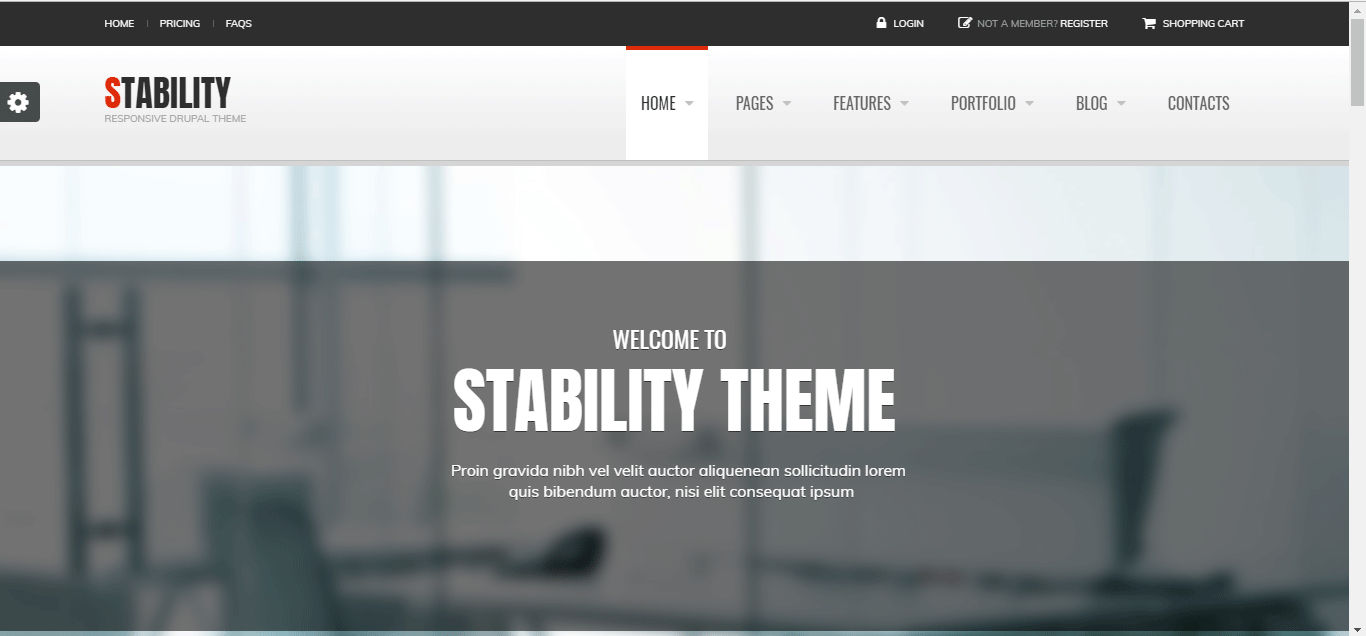stability drupal theme