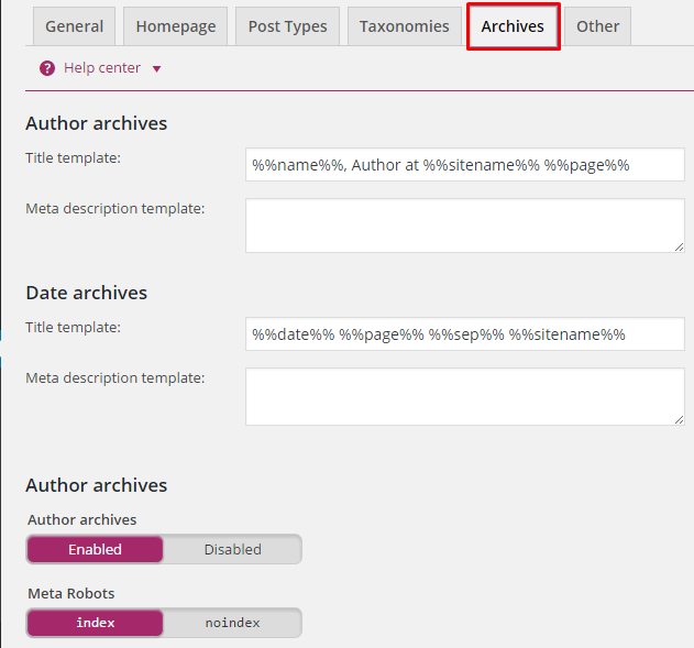 Yoast Archives