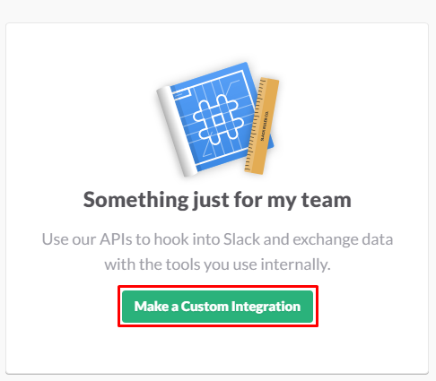 create custom integration