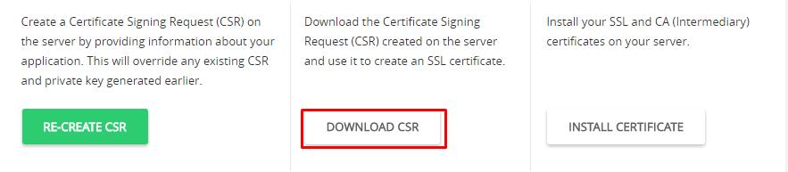 Create CSR