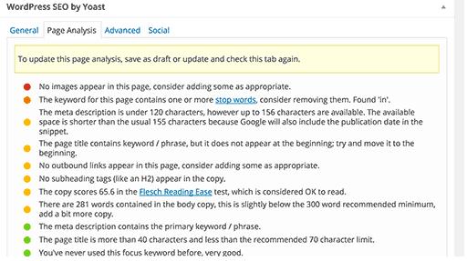 Google Page Analytics