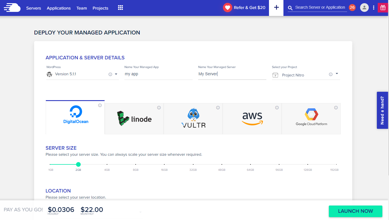 Ultimate platform for WordPress and WooCommerce hosting