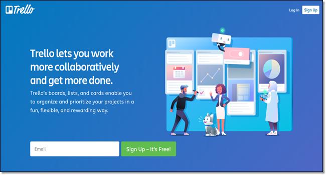 Trello designer collaboration tool