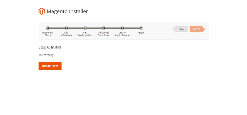 Magento 2 Ready To Install