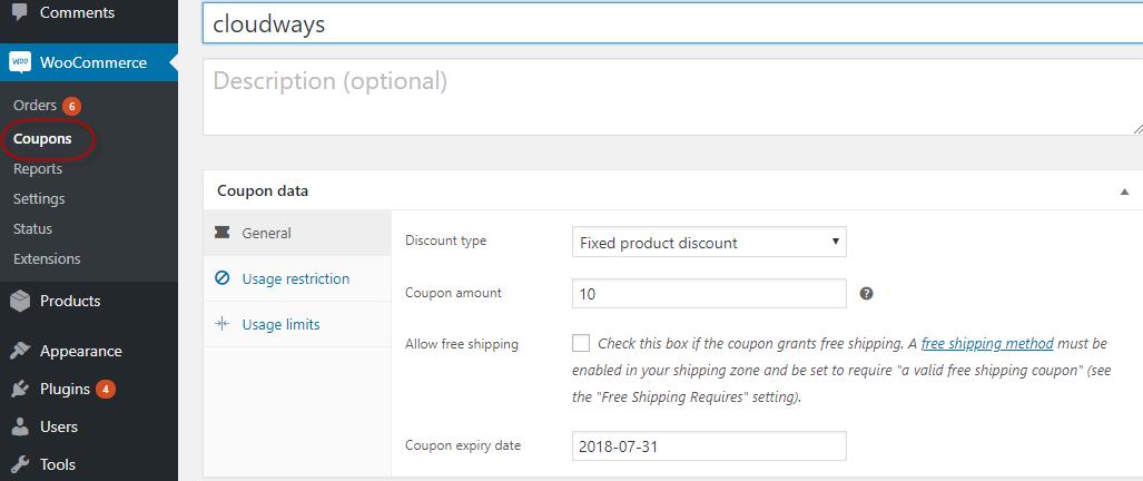 coupon data