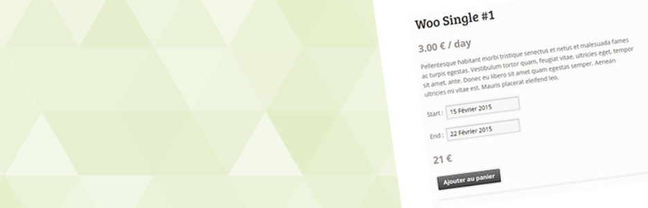 WooCommerce Easy Booking Plugin