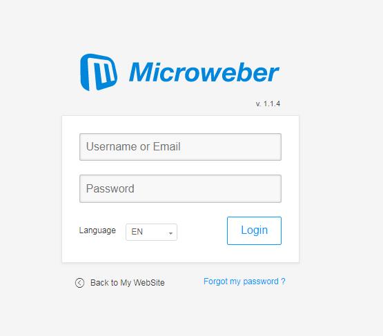 laravel website builder microweber