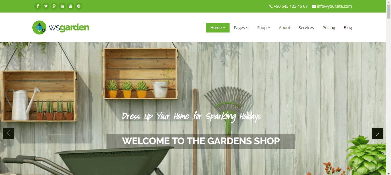 WS garden drupal theme