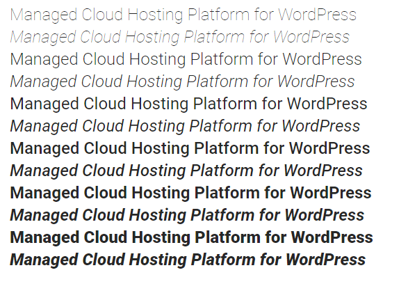 Google Fonts WordPress for Simple Yet Powerful Customization