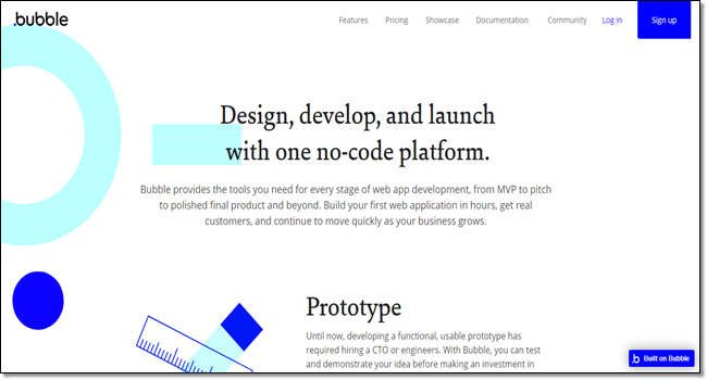 Bubble design tool