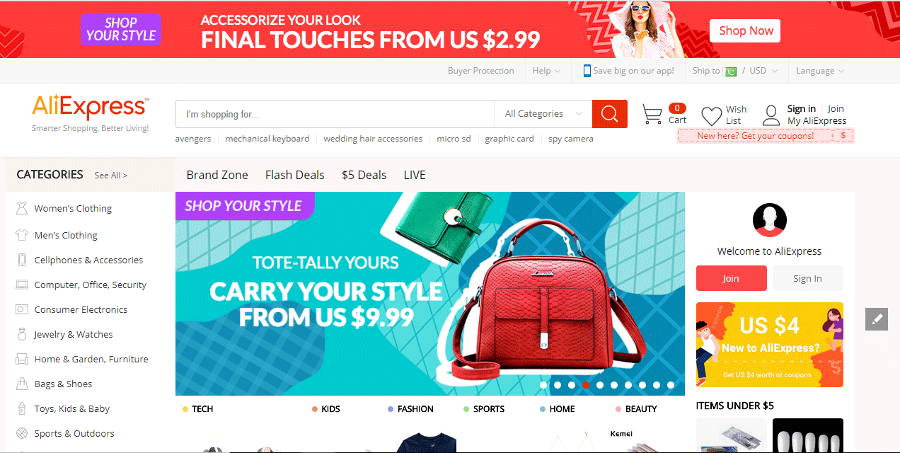 Import Products from AliExpress to Your Store Using WooDropship