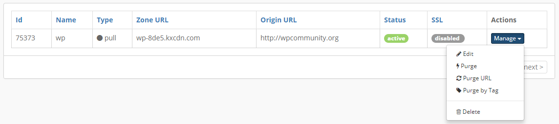 WordPress CDN Configuration