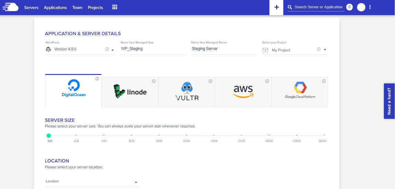 cloud hosting providers