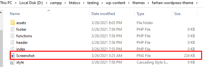 adding scrrenshot png file