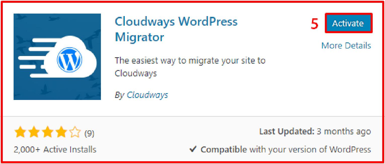 Cloudways Migrator Plugin