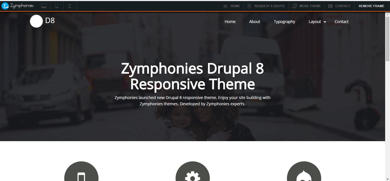 zymphonies drupal theme