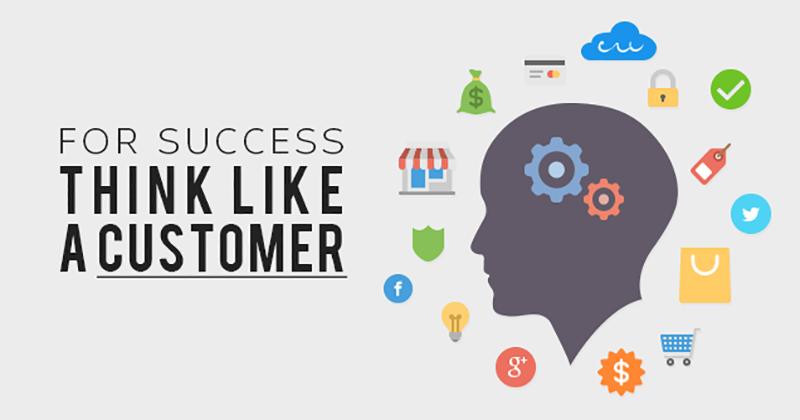 Think Like a Customer - Ecommerce SEO checklist