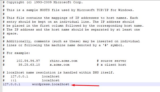 Edit Code in Host File