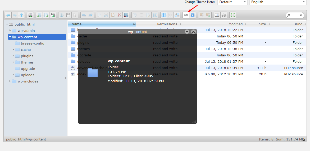 Access Files From WordPress Dashboard via File Manager Plugin