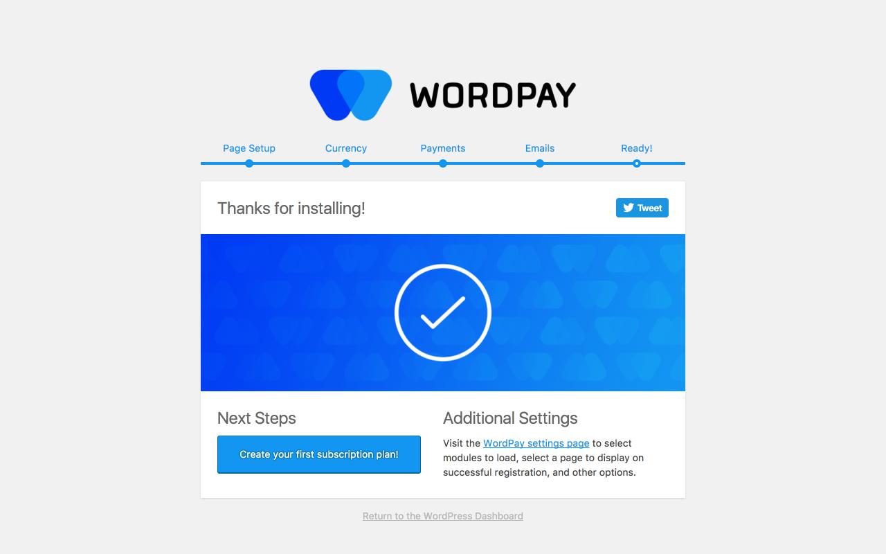 Wordpay Ready