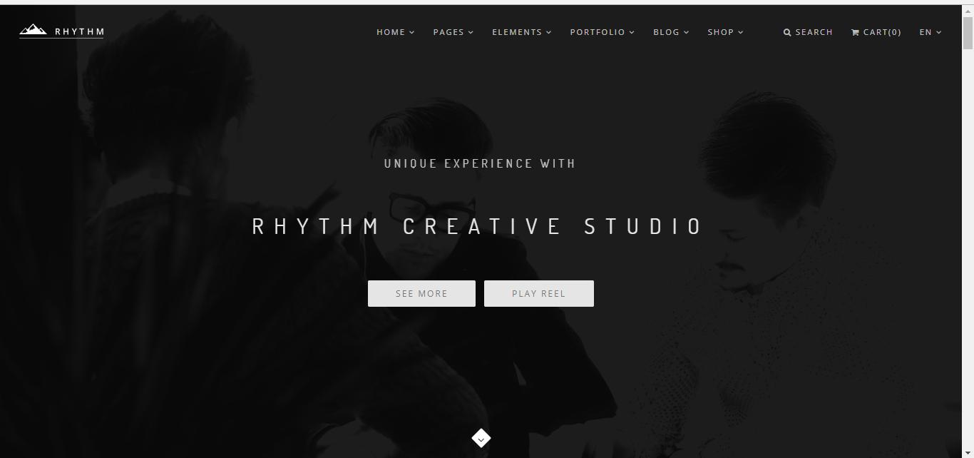 rythm drupal theme