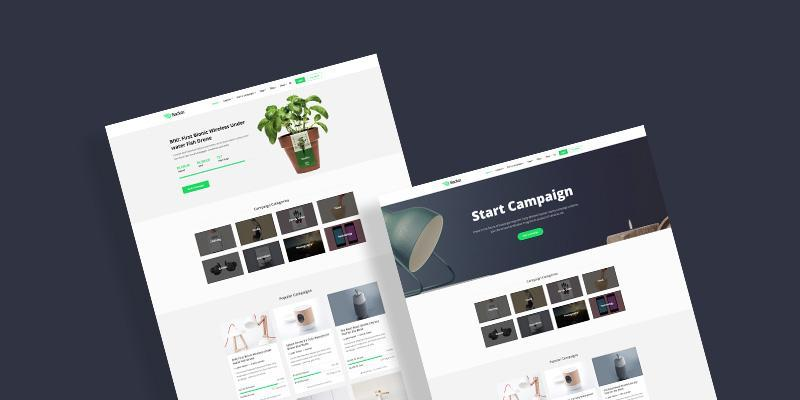 Two Home Page Variations