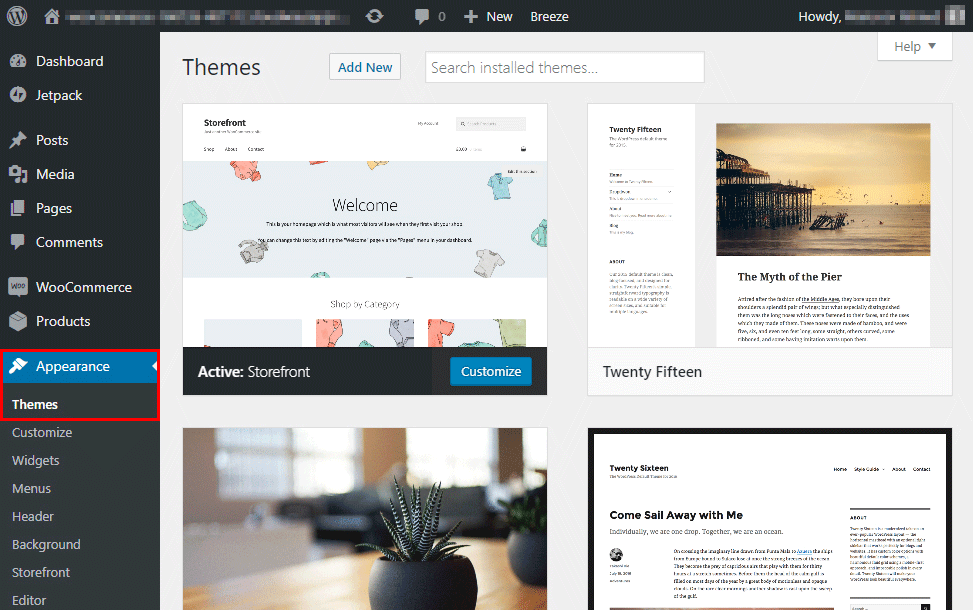 Nonprofit WordPress Site Theme