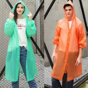 Hooded Raincoats