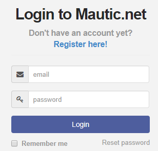 Mautic Login