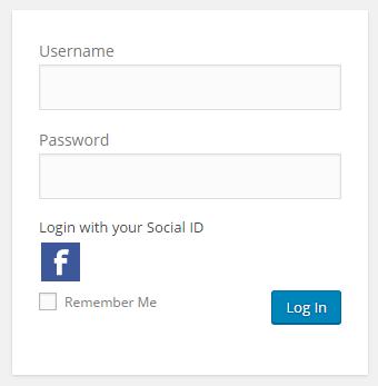 WooCommerce social login icons