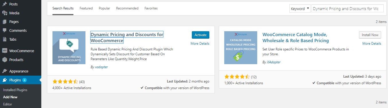 Dynamic Pricing and Discounts Plugin for WooCommerce