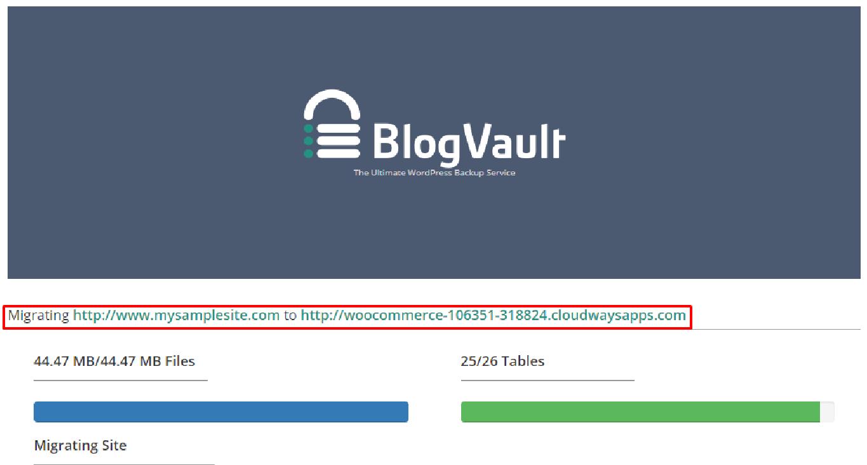 BlogVault WordPress Backup Service