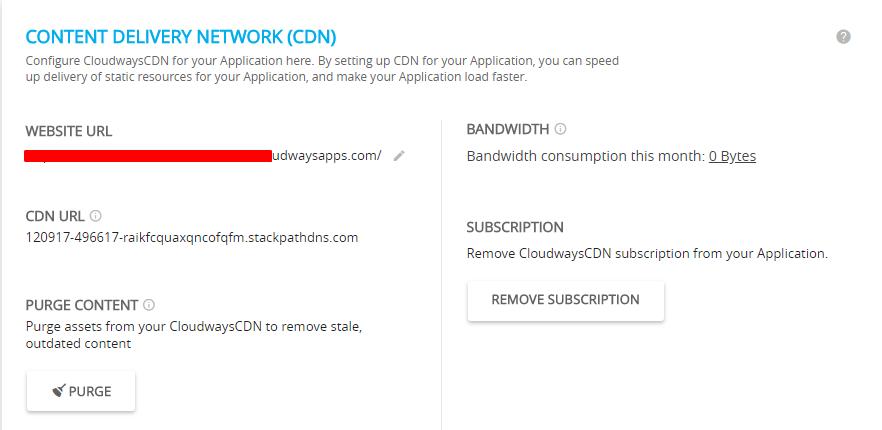Cloudways WordPress CDN For Woocommerce Hosting