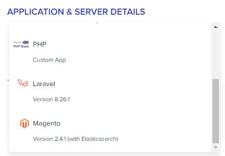 Select Magento Application