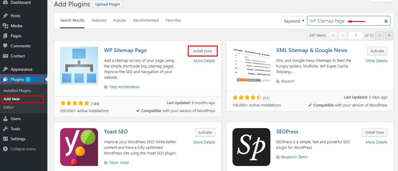 WordPress SEO :如何在WordPress中创建站点地图(sitemap)让你的博客更好的收录?插图8