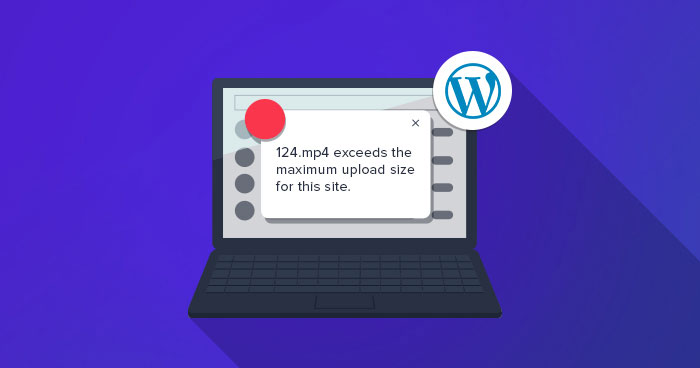 increase upload size wordpress