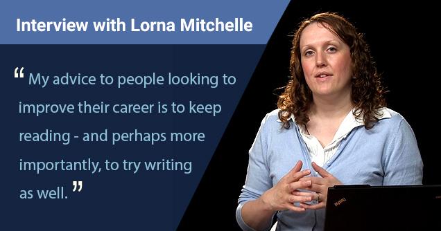 Lorna Mitchell Interview