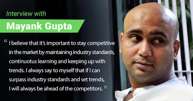Mayank gupta interview