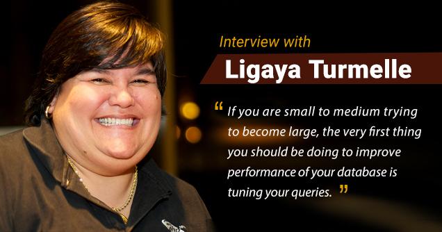 Ligaya Turmelle Interview