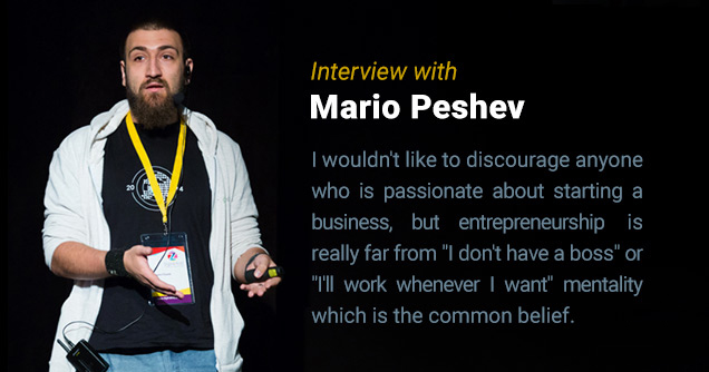 Mario Peshev interview