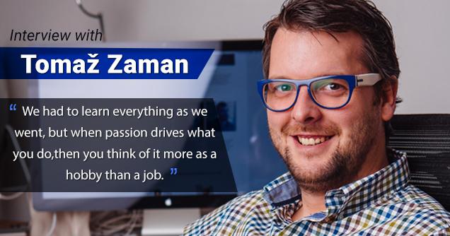 Tomaž Zaman Interview