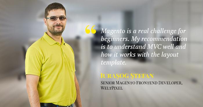 Iurașog Ștefan Discusses Magento Frontend Development