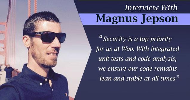 Magnus Jepson Interview