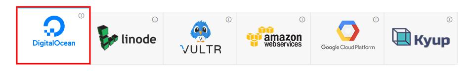 launch multiple websites one server digitalocean