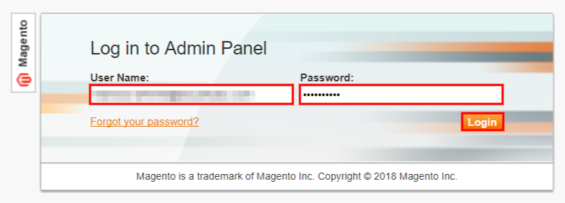 launch multiple websites one server magento login