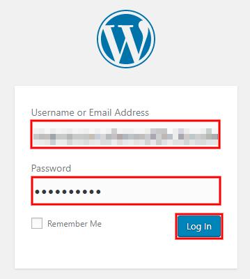 launch multiple websites one server wordpress login